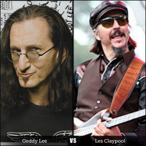 Geddy Lee Vs Les Claypool